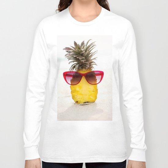 cool pineapple Long Sleeve T-shirt