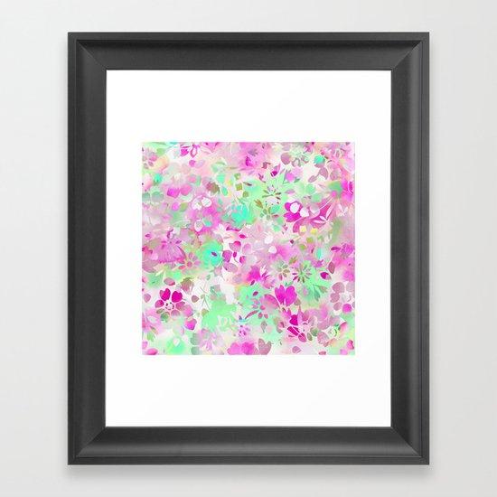 Floral Spirit 4 Framed Art Print