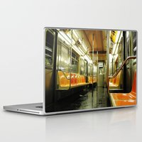 subway Laptop & iPad Skins featuring Subway by Bryan McKinney