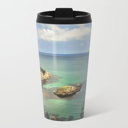 Dream coast. Retro Travel Mug
