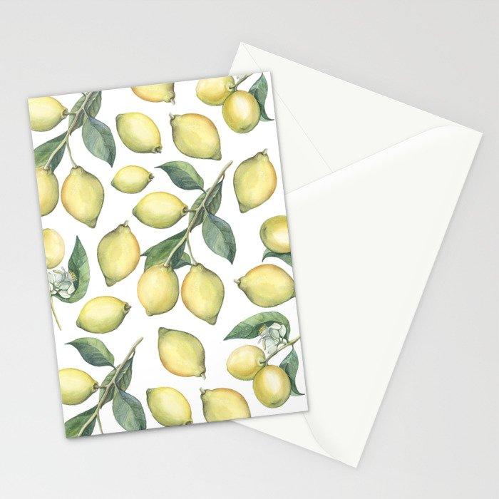 Lemon Fresh Stationery Cards