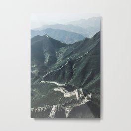 The Great Wall of China I Metal Print