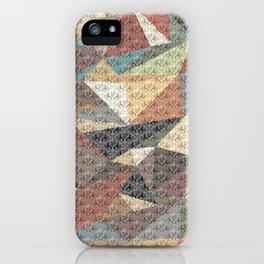 Tri-wangles  iPhone Case