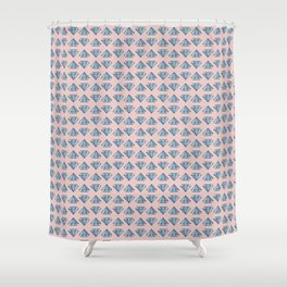 Lot Of Diamonds! Shower Curtain