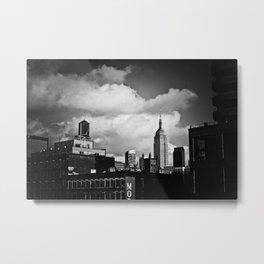 NYC Skyline 2012 (film grain) Metal Print