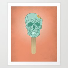 We All Scream Art Print