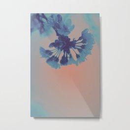 Hypereal Sunrise Florals (5) Metal Print