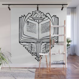 Book Wall Mural