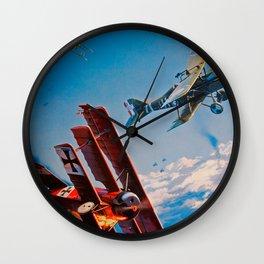 Fokker Dr.1 Wall Clock