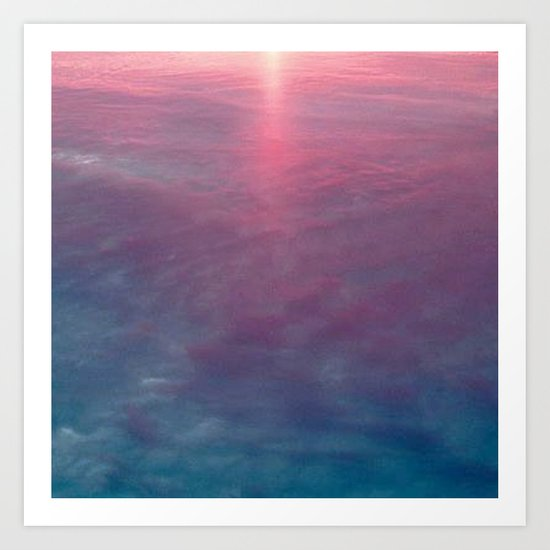Sky and Water Art Print