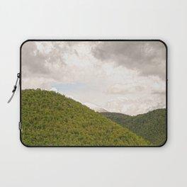 Dramatic summer mountain cloudscape Laptop Sleeve