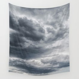 Storm Clouds Rolling In Wall Tapestry