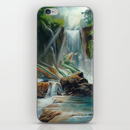 Fishing fantasy dragon iPhone Skin
