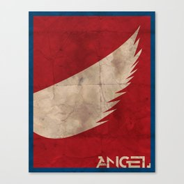 Minimalist Angel Canvas Print