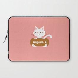 Hug Me Nyanko Laptop Sleeve