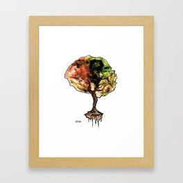 A Tree of Life Framed Art Print