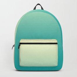 Ombre Cyan Sea Backpack