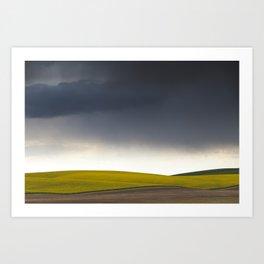 Rain's Coming Art Print