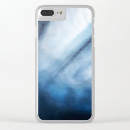 Spirits Abstract Clear iPhone Case