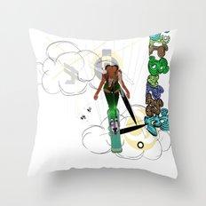 airborne Throw Pillow