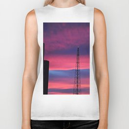 Sunset Tower Biker Tank