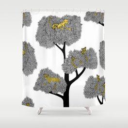 Resting beauties Shower Curtain