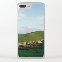 Rocky Hills of Northern California Clear iPhone Case
