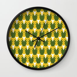 Pineapple Party Wall Clock