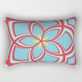 Spiral Rose Pattern C 3/4 Rectangular Pillow