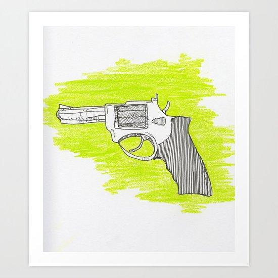#bangbang Art Print