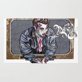 Zombie James Dean Rug
