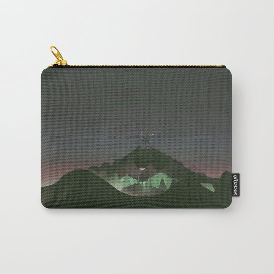 dark landscape Carry-All Pouch