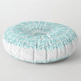 A Glittering Mandala Floor Pillow