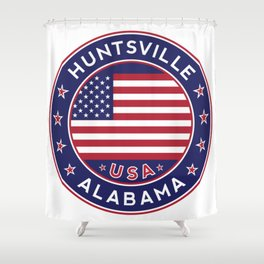 Huntsville, Alabama Shower Curtain