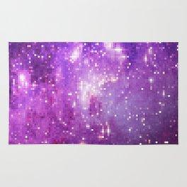 pixels stars Rug