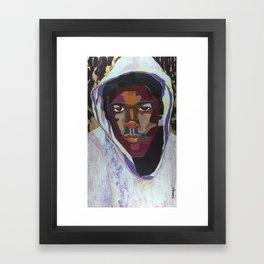 The Tribute Series-Trayvon Martin Framed Art Print