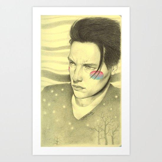 Jet boy, jet girl Art Print