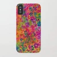 flora iPhone & iPod Cases featuring Flora by Amy Sia