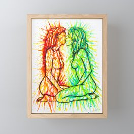 Sexual Energy Framed Mini Art Print