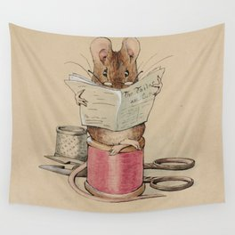 Beatrix Potter Tailor Mouse Wall Tapestry