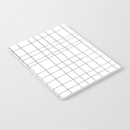 white grid Notebook