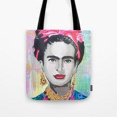 Frida Kahlo by Paola Gonzalez Tote Bag