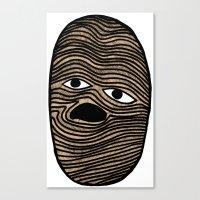 potato Canvas Prints featuring Potato by David Ernst