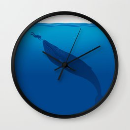 The Whale and a Human Wall Clock
