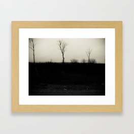 Desolation 5 Framed Art Print