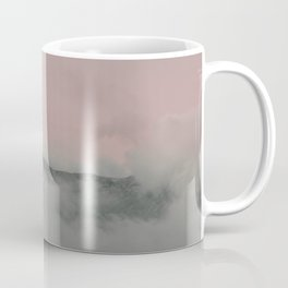 Eastern Sunset over the Mountain | Nature and Landscape Photography Coffee Mug