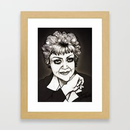 Angela Lansbury 2012 Framed Art Print