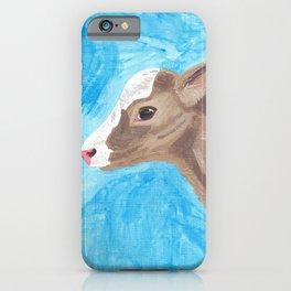 A Heifer Calf Named Keely iPhone Case