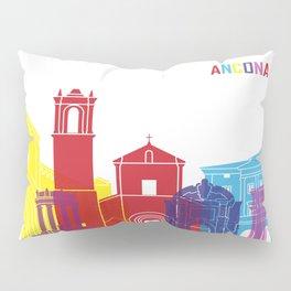 Ancona skyline pop Pillow Sham