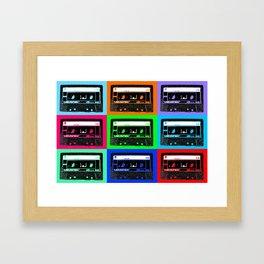 Mixtapes Framed Art Print
